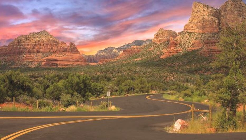 Web messaging for Sedona travelers